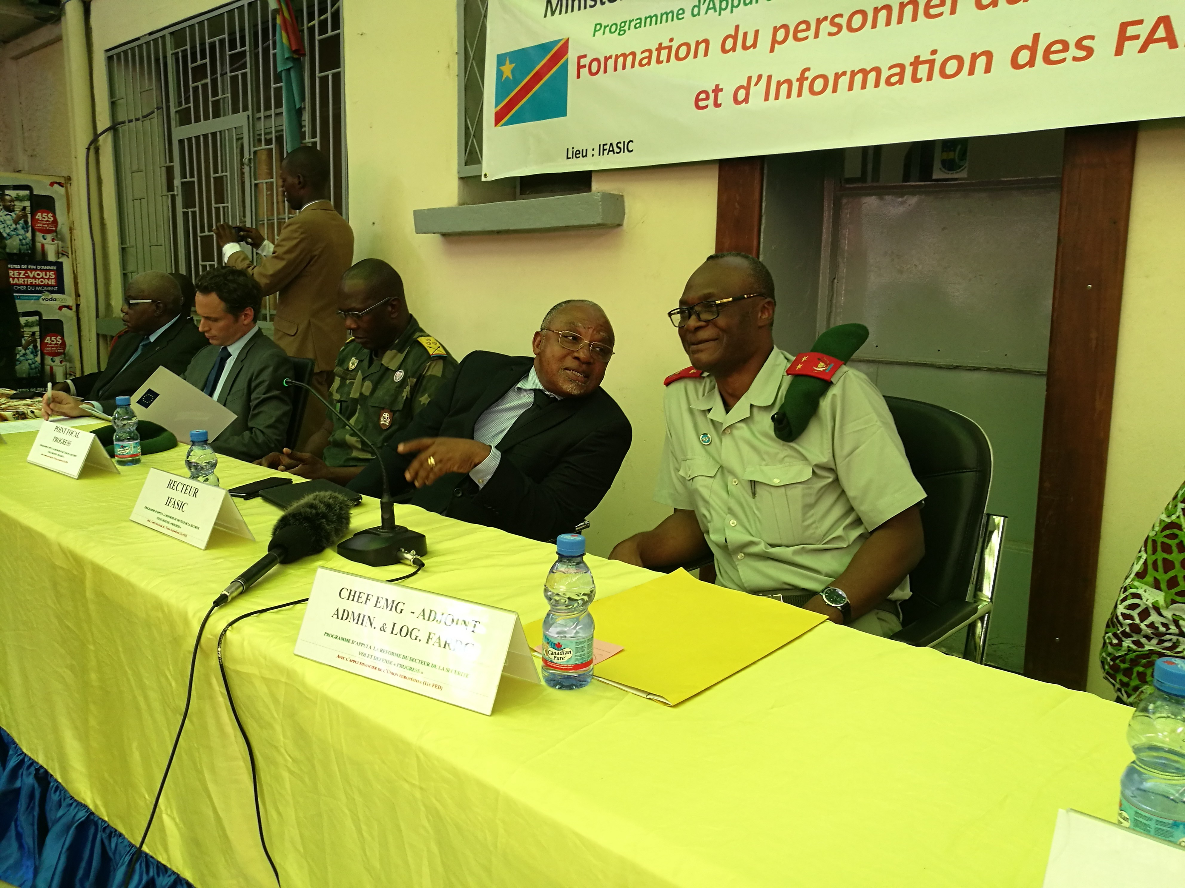 Fin de la formation des officiers et civils de la cellule de communication des FARDC par l'IFASIC