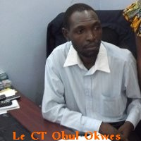 Le CT Obul Okwes, administrateur de l'orane Journal-Ecole